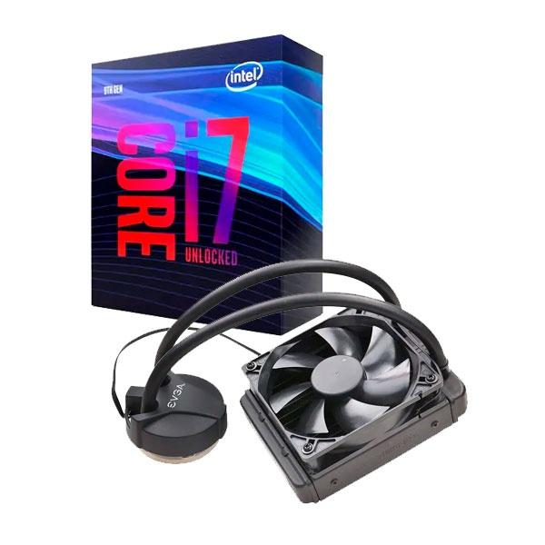 Intel i7 9700K EVGA CLC 120