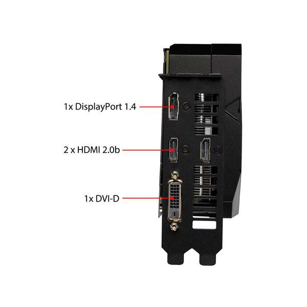ASUS DUAL RTX 2060 OC 6GB 5