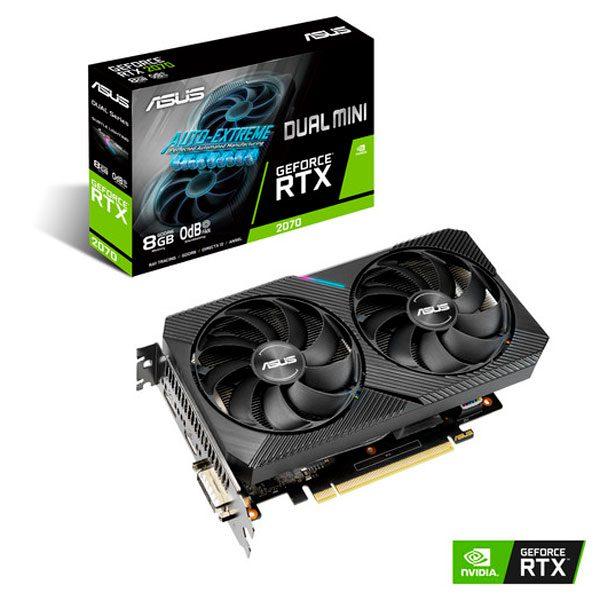 ASUS DUAL RTX 2070 MINI OC 8GB