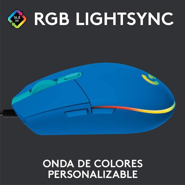 Logitech G203 Azul 2