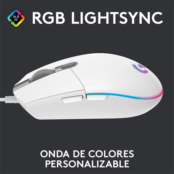 Logitech G203 Blanco 2