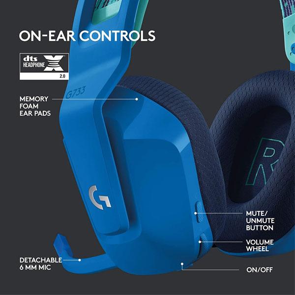 Logitech G733 Azul 5