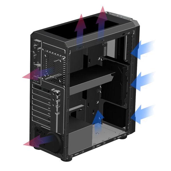Coolman Dustproof RGB 4